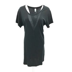 Alternative Straight Up Tee Shirt Dress Sz XL NWOT